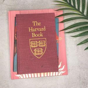 Vintage 80s Harvard Alumni Coffee Table Book
